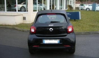 Smart FORFOUR – II 1.0 PASSION plein